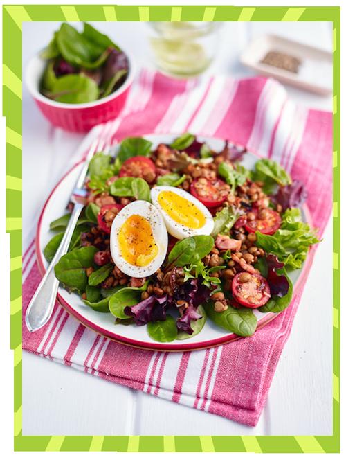 Pancetta-Salad